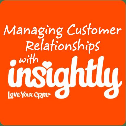 phần mềm chăm sóc khách hàng Insightly crm