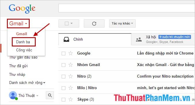 cách gửi mail hàng loạt trong gmail