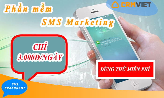 Phần mềm sms marketing