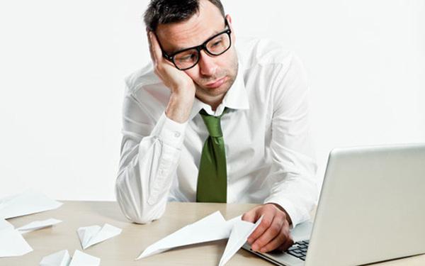 chán nản trong công việc