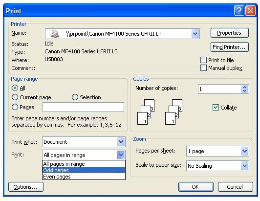Sforum - Trang thông tin công nghệ mới nhất in-hai-mat-giay-word Hướng dẫn in hai mặt giấy trong Word, PDF, Excel