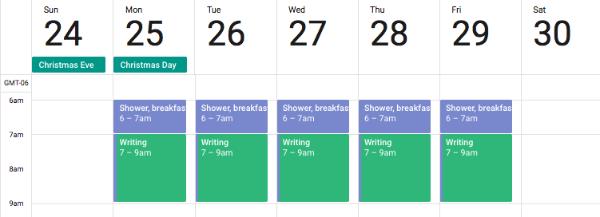 4 bước lập thời gian biểu cho một ngày
