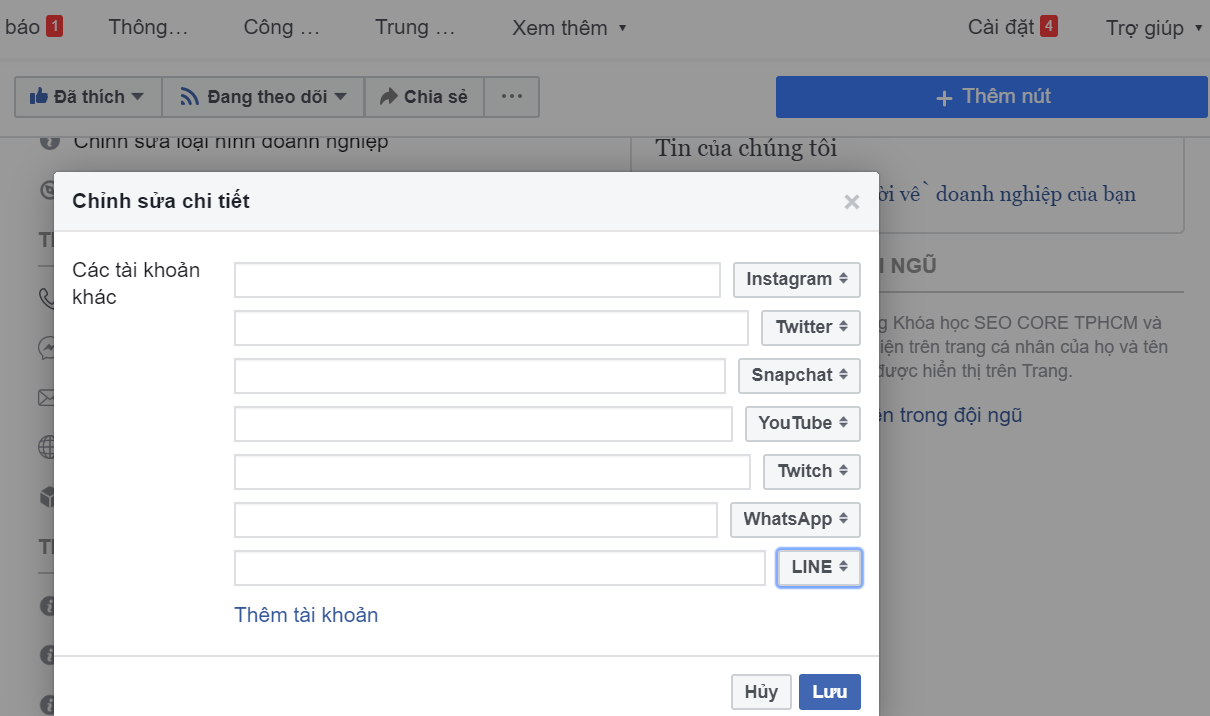 hướng dẫn seo facebook lên TOP 1