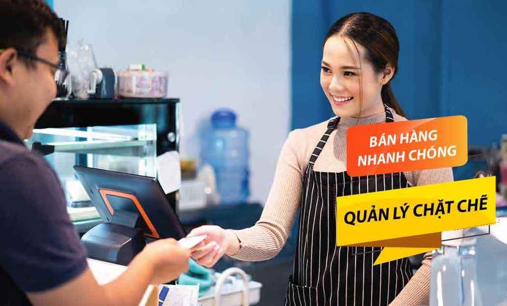 hệ thống POS cho cafe - nhà hàng ở Việt Nam