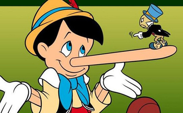 Kết quả hình ảnh cho dấu hiệu nhận biết khi người khác nói láo