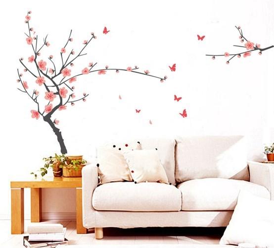 Trang trí cho ngôi nhà với mẫu hoa Anh Đào