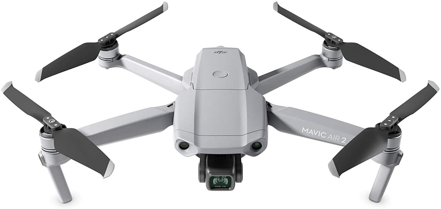 "Amazon.com : DJI Mavic Air 2 - Drone Quadcopter UAV with 48MP Camera 4K  Video 8K Hyperlapse 1/2"" CMOS Sensor 3-Axis Gimbal 34min Flight Time  ActiveTrack 3.0 Ocusync 2.0, Gray : Camera & Photo"