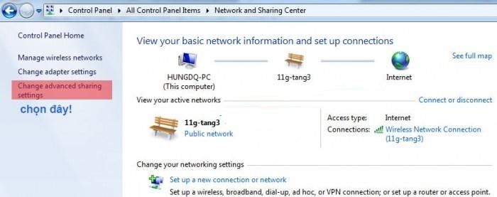 Hướng dẫn truyền dữ liệu giữa 2 máy tính qua WiFi Win 10 2