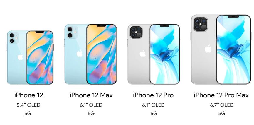 iPhone 12 có ba kích cỡ màn hình - VnExpress Số hóa