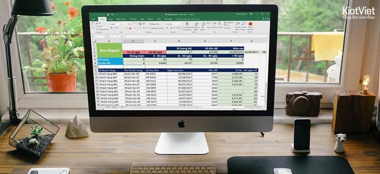 Những thông tin cần có trên file excel quản lý công nợ