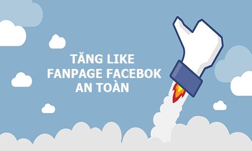 Tăng like Fanpage Facebook