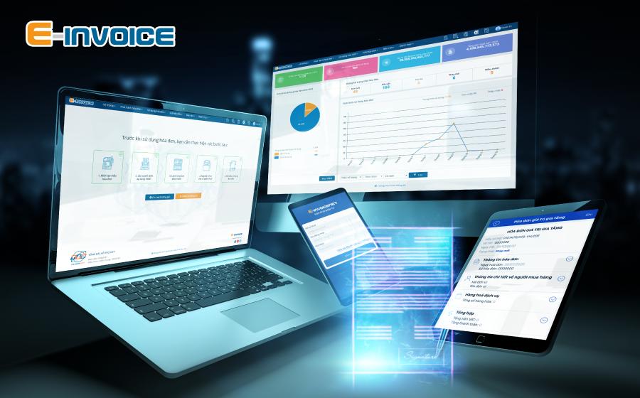 Hóa đơn điện tử E-invoice cài đặt dễ dàng trên mọi nền tảng thiết bị.