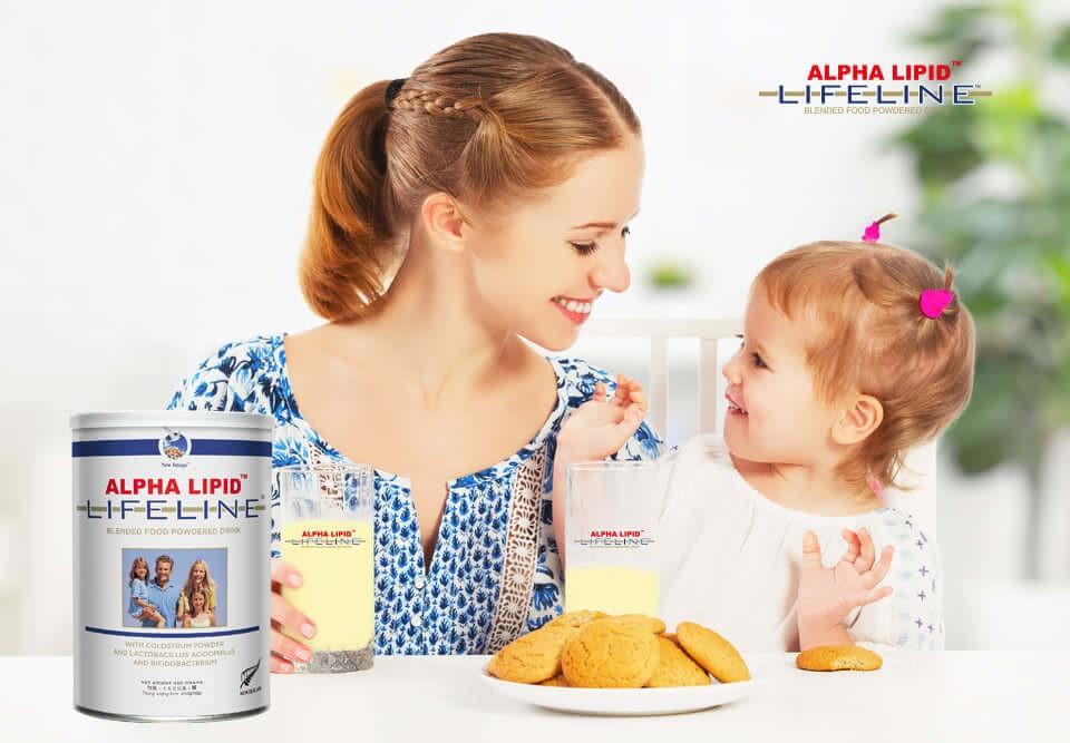 Sua non Alpha Lipid Lifeline cua Uc hop 450g 4