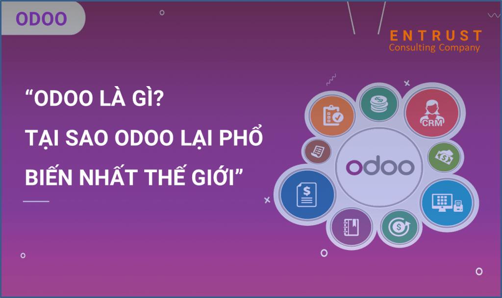 Giới thiệu phần mềm kế toán do Odoo phát triển