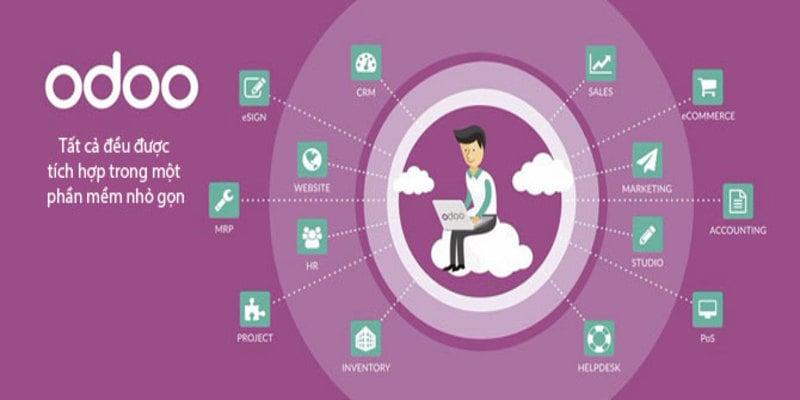 Các tính năng nổi bật của phần mềm quản lý odoo