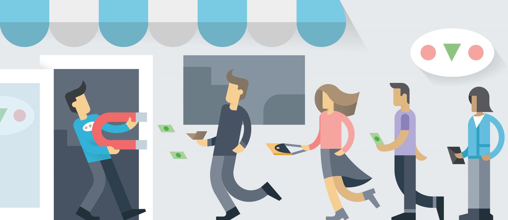 Giải pháp thu hút khách hàng hiệu quả